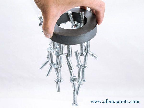 radial magnetization ferrite ring disc magnet