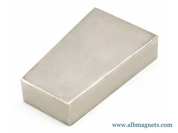 segment arc generator magnet wedge neodymium magnet
