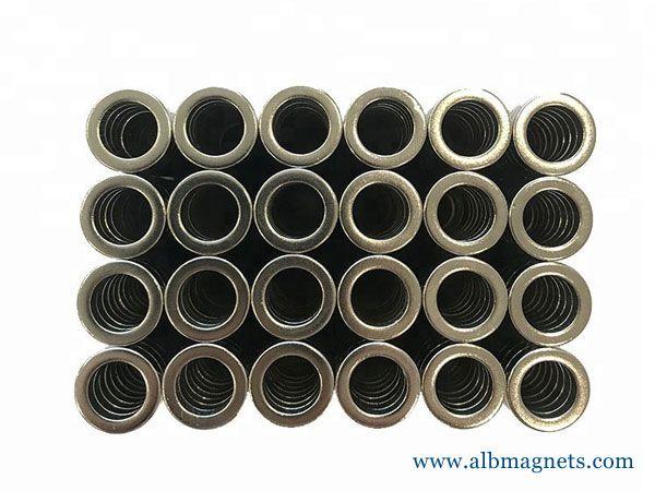 strong permanent neodymium tube magnet