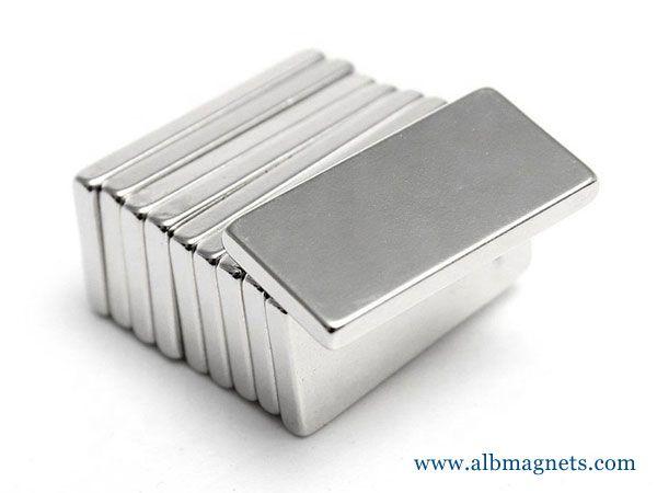 strong rectangular magnet force magnetic block