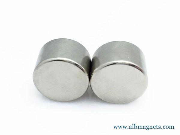 strong round cylinder fridge magnet 25x20mm