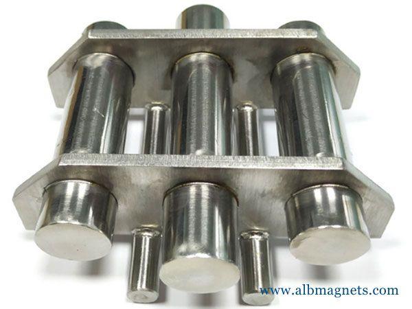 super neodymium stainless steel 15000 gauss tube magnets
