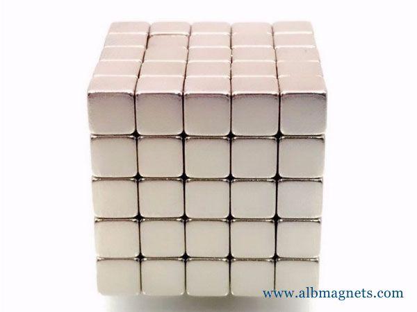 super strong custom size 50x50x50 neodymium magnet