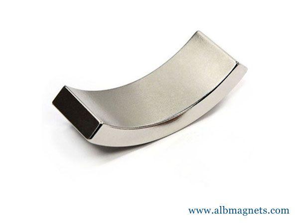N42SH high-temperature magnet, wedge neodymium magnet n42sh sector arc magnets