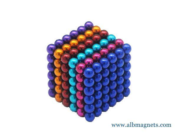 wholesale albmagnets import rubic cube neodymium magnet