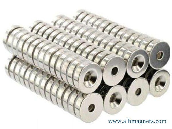 wholesale neodymium ndfeb magnet tube n52 magnets