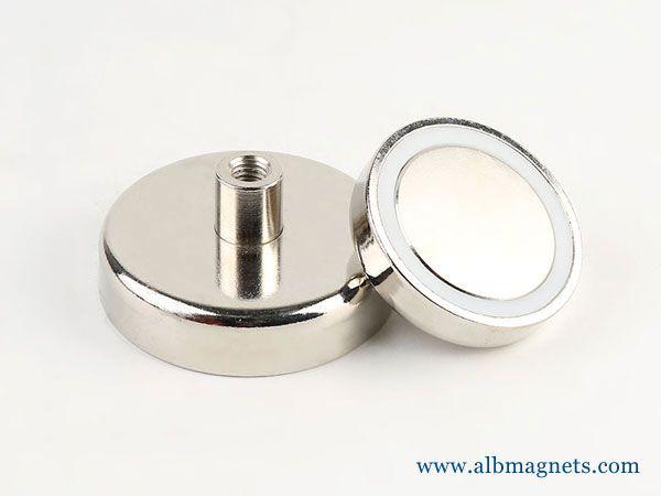 Neodymium Hook Cup Magnets