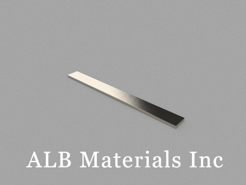 B100x10x2mm Neodymium Magnet, 100 x 10 x 2mm Block Magnet