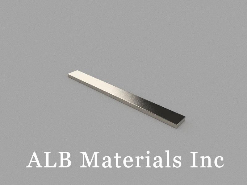 B100x10x3mm Neodymium Magnet, 100 x 10 x 3mm Block Magnet