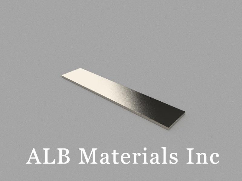 B100x20x2mm Neodymium Magnet, 100 x 20 x 2mm Block Magnet