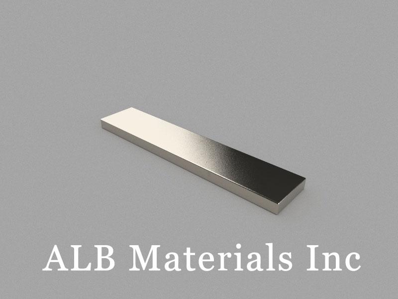 B100x20x5mm Neodymium Magnet, 100 x 20 x 5mm Block Magnet