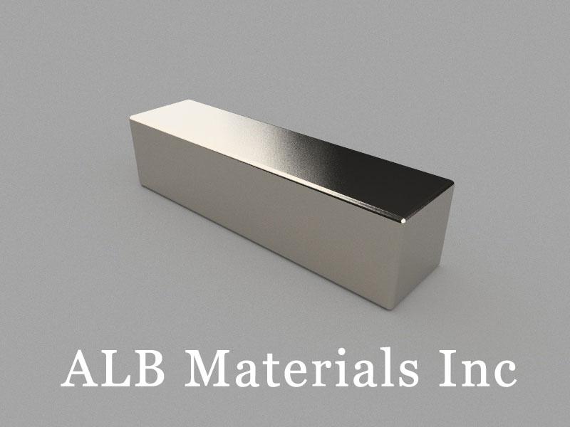 B100x25.4x25mm Neodymium Magnet, 100 x 25.4 x 25mm Block Magnet
