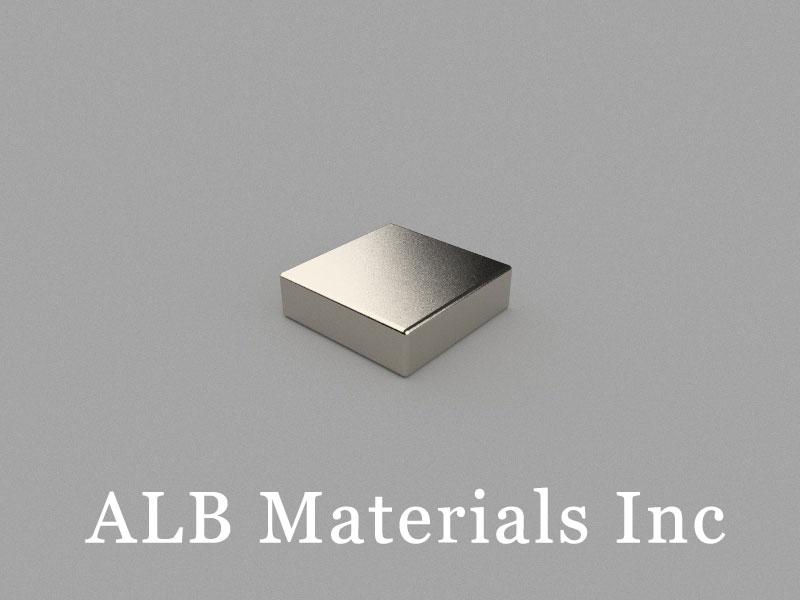 B-W10H3L10-N48 Neodymium Magnet, 10x10x3mm Block Magnet