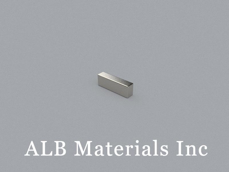 B-W2.3H3.3L10-N50BE Neodymium Magnet, 10x2.3x3.3mm Block Magnet