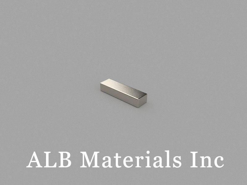 B-W2.8H1.9L10-N50BNi Neodymium Magnet, 10x2.8x1.9mm Block Magnet