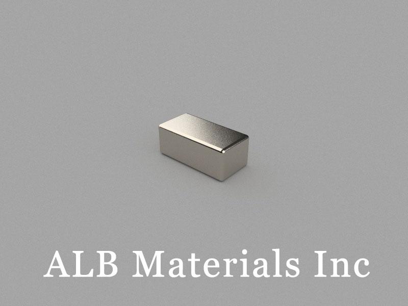 B-W5H4L10-N42 Neodymium Magnet, 10x5x4mm Block Magnet