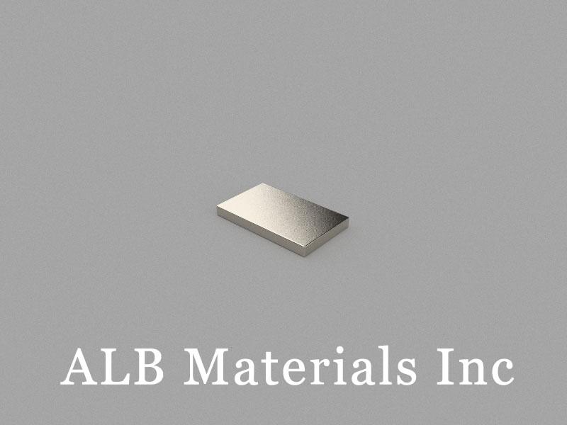 B10x6x1mm Neodymium Magnet, 10 x 6 x 1mm Block Magnet