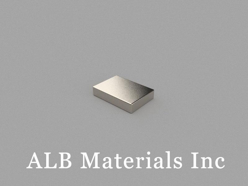 B-W7H2L10-N35 Neodymium Magnet, 10x7x2mm Block Magnet