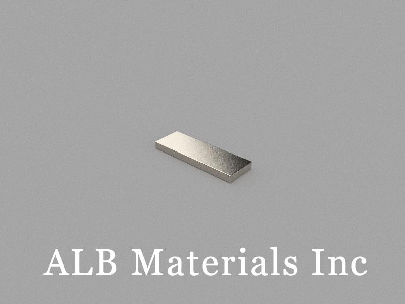 B12x4x1mm Neodymium Magnet, 12 x 4 x 1mm Block Magnet