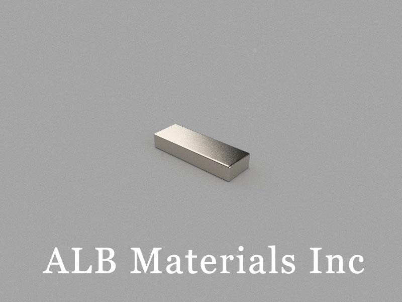 B12x4x2mm Neodymium Magnet, 12 x 4 x 2mm Block Magnet