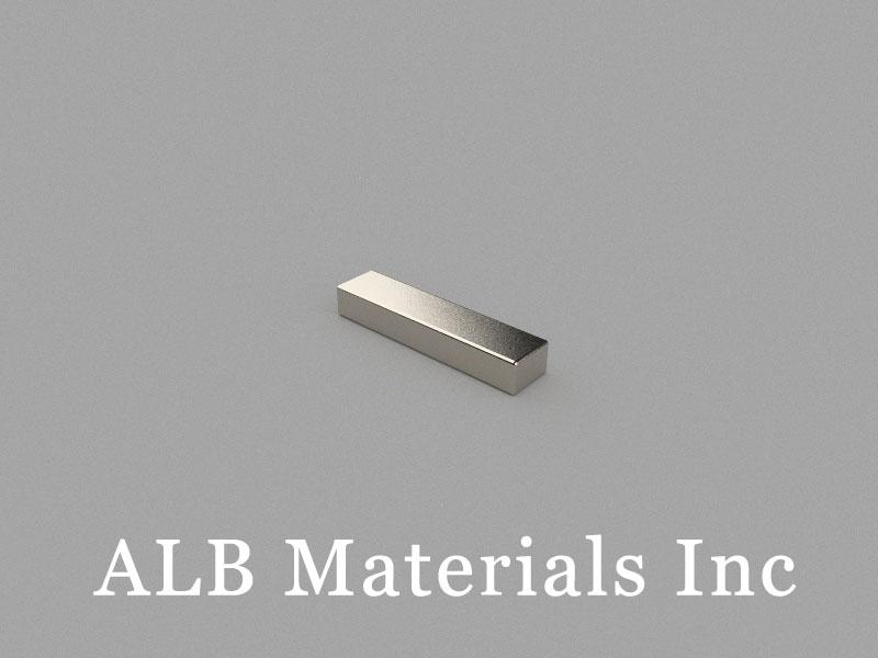 B13x3x2mm Neodymium Magnet, 13 x 3 x 2mm Block Magnet