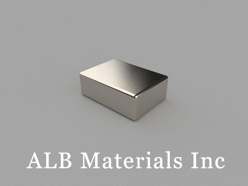 B-W10H5L14-N48M Neodymium Magnet, 14x10x5mm Block Magnet