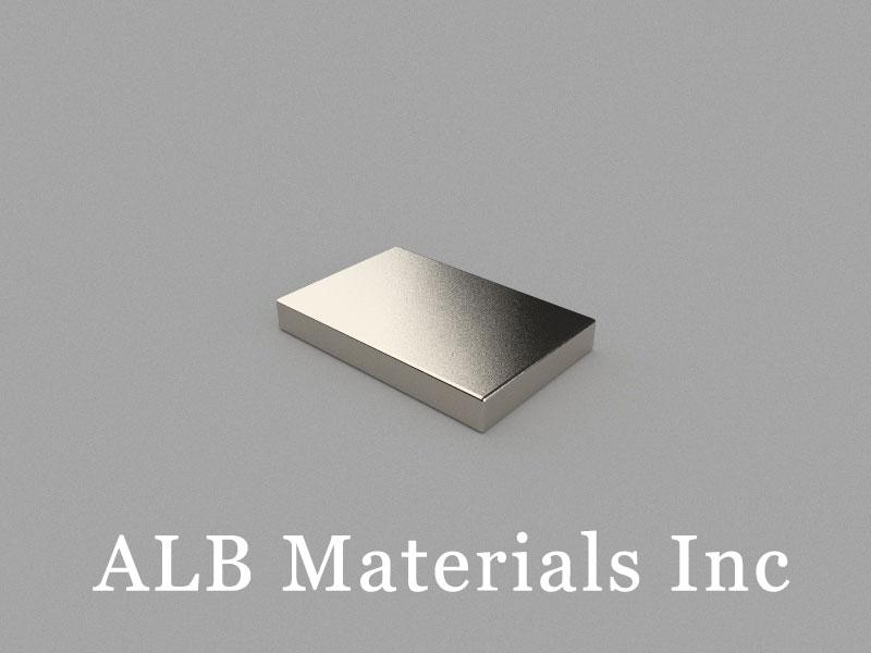 B15x10x2mm Neodymium Magnet, 15 x 10 x 2mm Block Magnet