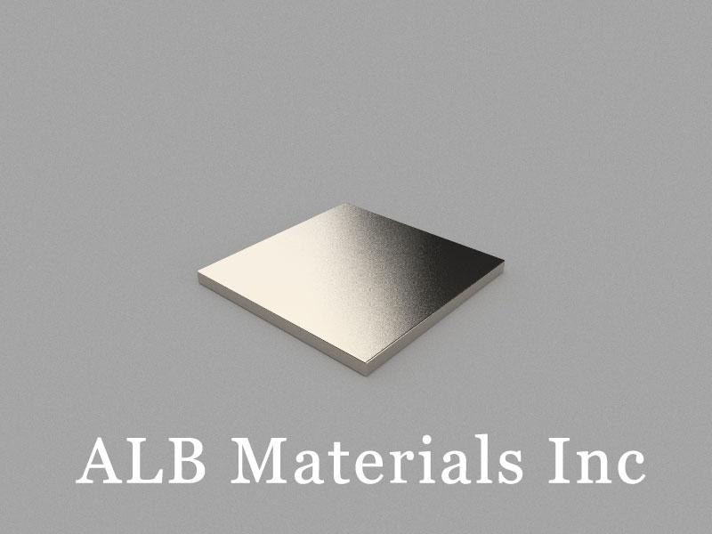 B15x15x1mm Neodymium Magnet, 15 x 15 x 1mm Block Magnet