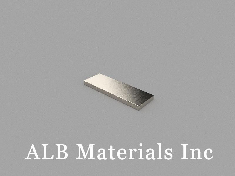 B15x5x1mm Neodymium Magnet, 15 x 5 x 1mm Block Magnet