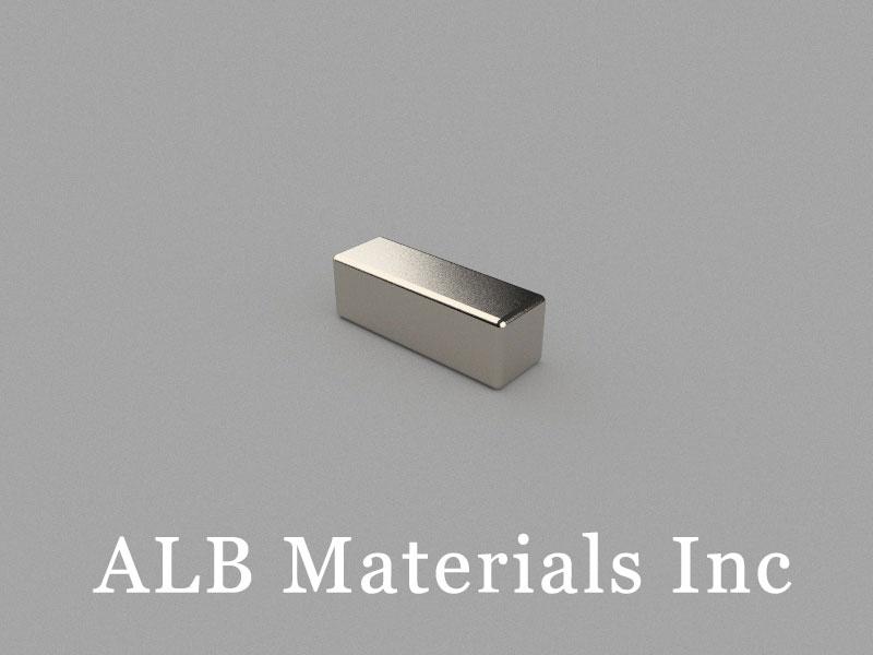 B-W5H5L15-N45 Neodymium Magnet, 15x5x5mm Block Magnet