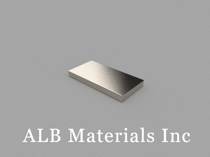 B20x10x2mm Neodymium Magnet, 20 x 10 x 2mm Block Magnet