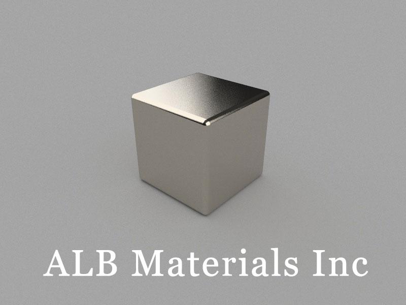 B-W20H20L20-N40 Neodymium Magnet, 20x20x20mm Block Magnet