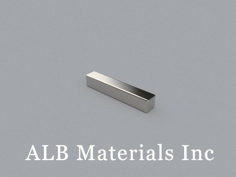B-W3.4H3.5L20-N48 Neodymium Magnet, 20x3.4x3.5mm Block Magnet