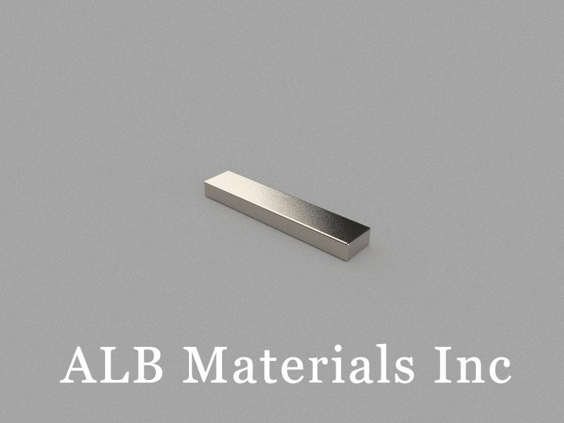 B20x4x2mm Neodymium Magnet, 20 x 4 x 2mm Block Magnet