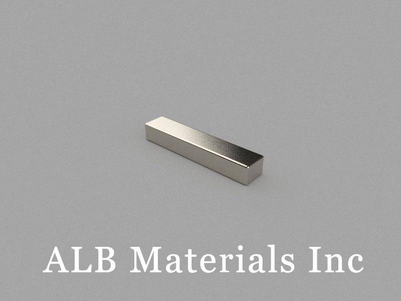 B20x4x3mm Neodymium Magnet, 20 x 4 x 3mm Block Magnet
