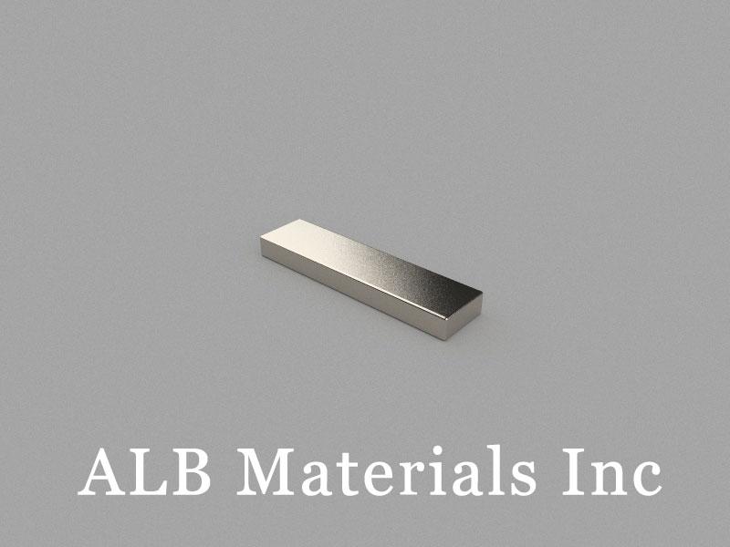 B20x5x2mm Neodymium Magnet, 20 x 5 x 2mm Block Magnet