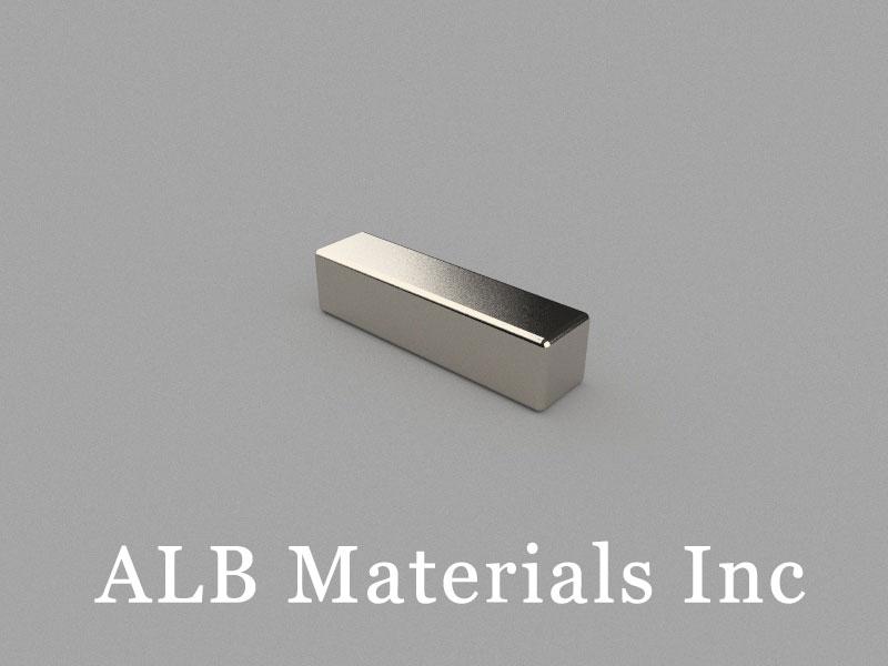 B-W5H5L20-N42 Neodymium Magnet, 20x5x5mm Block Magnet