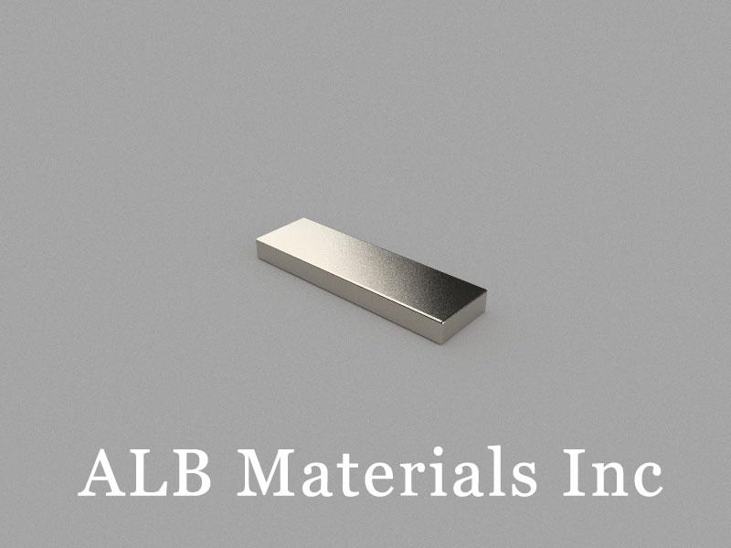 B20x6x2mm Neodymium Magnet, 20 x 6 x 2mm Block Magnet