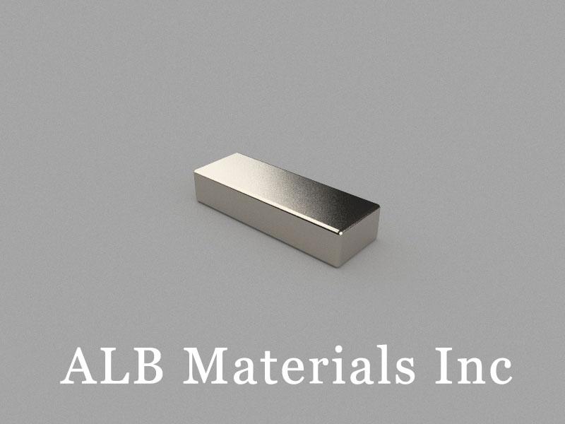 B20x7x4mm Neodymium Magnet, 20 x 7 x 4mm Block Magnet