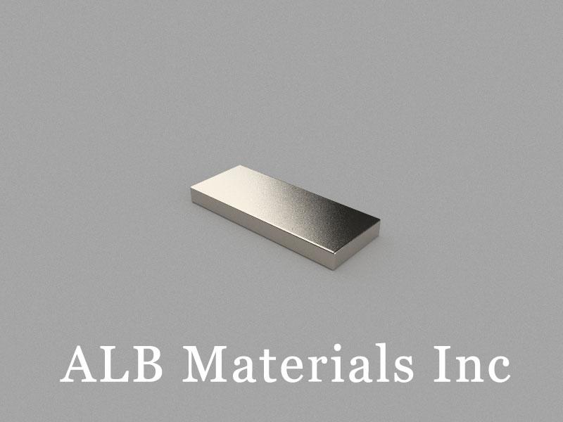 B20x8x2mm Neodymium Magnet, 20 x 8 x 2mm Block Magnet
