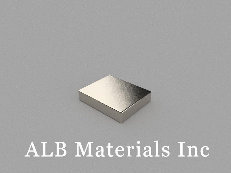 B22x18x4.6mm Neodymium Magnet, 22 x 18 x 4.6mm Block Magnet