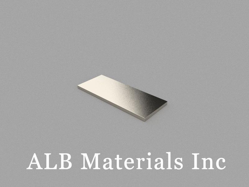 B25x10x1mm Neodymium Magnet, 25 x 10 x 1mm Block Magnet