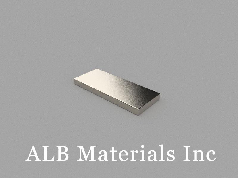 B25x10x2mm Neodymium Magnet, 25 x 10 x 2mm Block Magnet