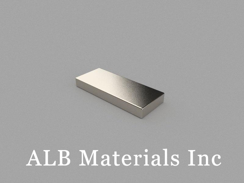 B25x10x3mm Neodymium Magnet, 25 x 10 x 3mm Block Magnet