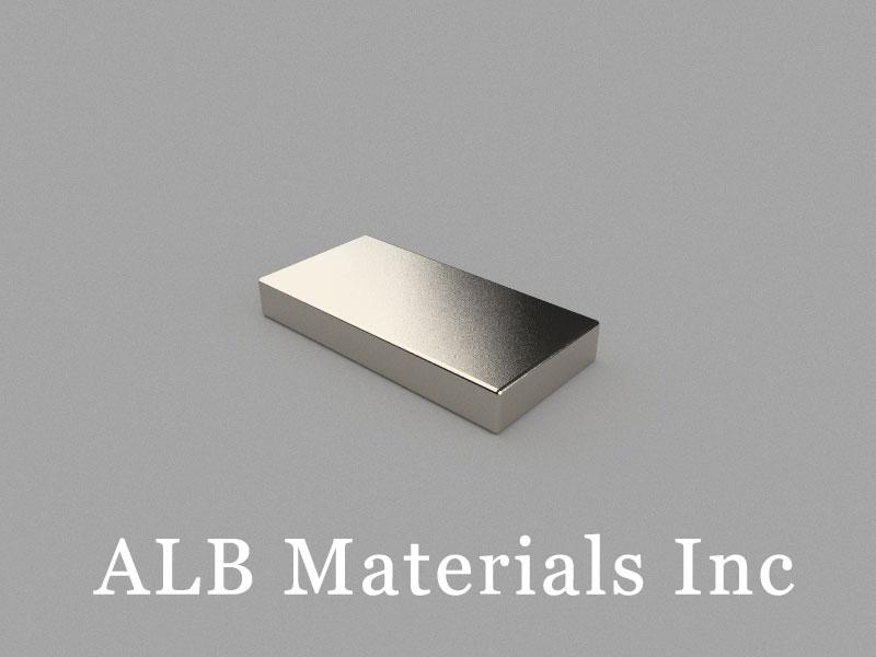 B25x12.5x3.5mm Neodymium Magnet, 25 x 12.5 x 3.5mm Block Magnet