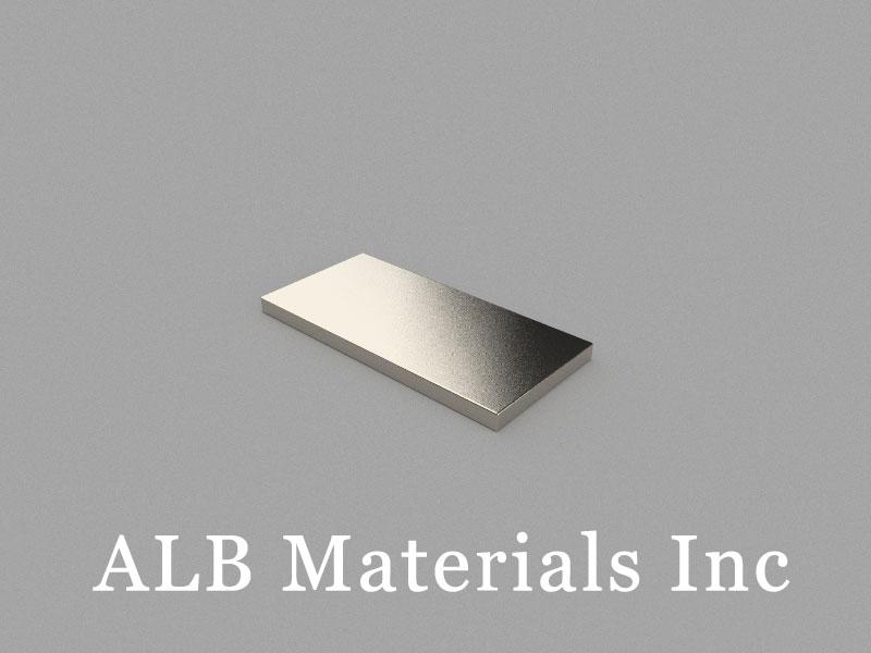 B25x12x1.5mm Neodymium Magnet, 25 x 12 x 1.5mm Block Magnet