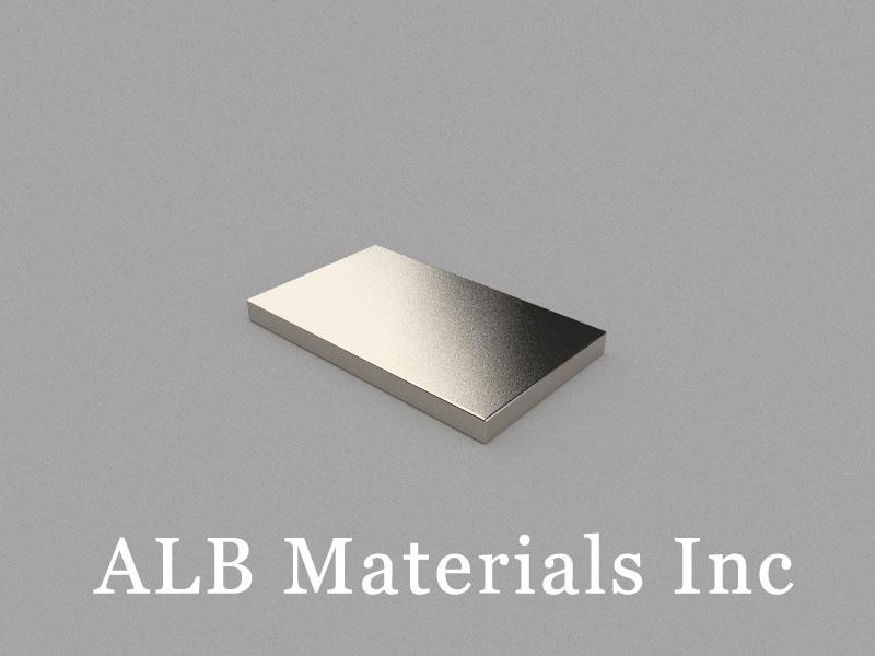 B25x15x2mm Neodymium Magnet, 25 x 15 x 2mm Block Magnet
