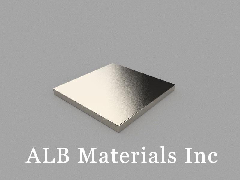 B25x25x2mm Neodymium Magnet, 25 x 25 x 2mm Block Magnet