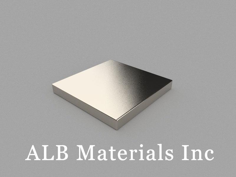 B25x25x3mm Neodymium Magnet, 25 x 25 x 3mm Block Magnet