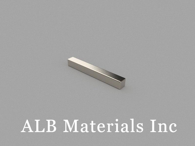 B25x3x3mm Neodymium Magnet, 25 x 3 x 3mm Block Magnet